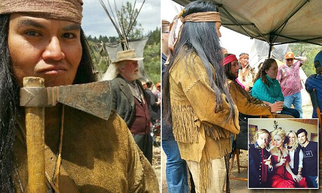 Native American extras storm off set of Adam Sandler's film The Ridiculous 6