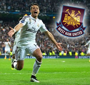 West Ham target £7m move for Real Madrid Champions League hero Javier Hernandez