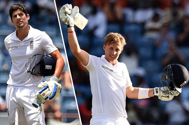 Joe Root cruises to his sixth Test century after Alastair Cook falls short as England take