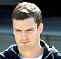 Dated: 23/04/2015   Sunderland AFC midfielder Adam Johnson, 27,  pictured leaving Peterlee police station this afternoon (THURS), where he reported to answer bail following his arrest on the 02/03/15 on suspicion of sexual activity with a girl under 16.
