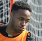 LIVERPOOL, ENGLAND - APRIL 23:  (THE SUN OUT, THE SUN ON SUNDAY OUT) Raheem Sterling  of Liverpool in action during a training session at Melwood Training Ground on April 23, 2015 in Liverpool, England.  (Photo by John Powell/Liverpool FC via Getty Images)