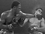 Muhammad Ali, right, takes a left punch from Joe Frazier during the 15th round of their heavyweight title boxing bout in New York.   Frazier won a unanimous decision. Frazier, the former heavyweight champion who handed Ali his first defeat yet had to live forever in his shadow, died Monday Nov. 7, 2011 after a brief  fight with liver cancer. He was 67.    Joe Frazier died 7/11/2011.    FILE - In this March 8, 1971, file photo. (AP Photo/File) .