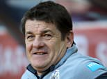 File photo dated 05-04-2015 of Newcastle United manager John Carver before the Barclays Premier League match at the Stadium of Light, Sunderland. PRESS ASSOCIATION Photo. Issue date: Tuesday April 14, 2015. Newcastle boss John Carver accepts the pressure is on as his side head into their final six games with their top-flight status still not secured. See PA story SOCCER Newcastle. Photo credit should read Richard Sellers/PA Wire.