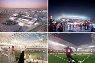 Qatar launch stunning Al Rayyan stadium design for World Cup 2022... with air conditioning