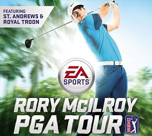 Rory McIlroy fronts cover of latest version of EA Sports PGA Tour video game