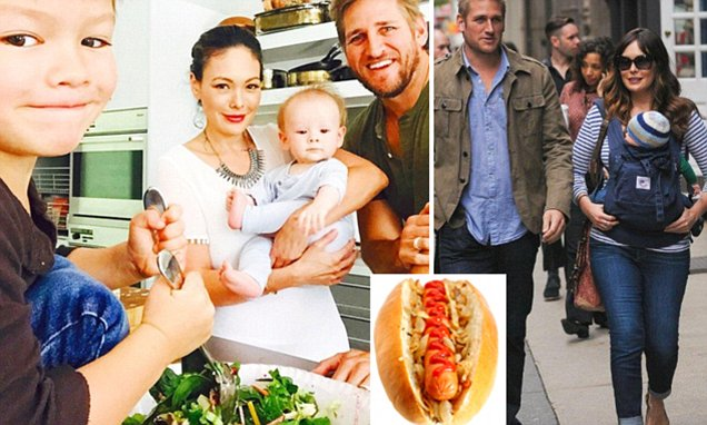 Chef Curtis Stone makes it clear only healthy food will do for his children