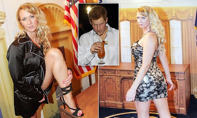 Dominatrix claims she shared 'hot, deep kiss' with Prince Harry on Vegas trip