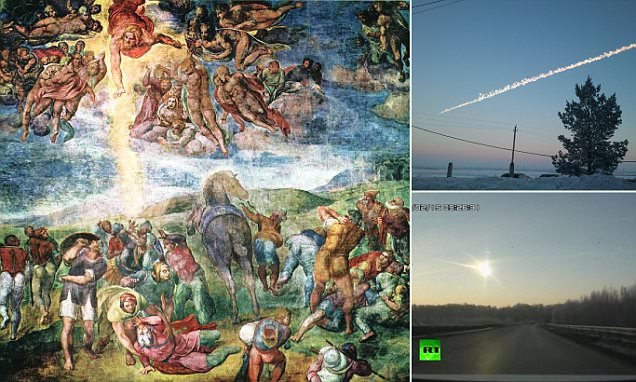 Chelyabinsk-like fireball may have made Paul the Apostle convert