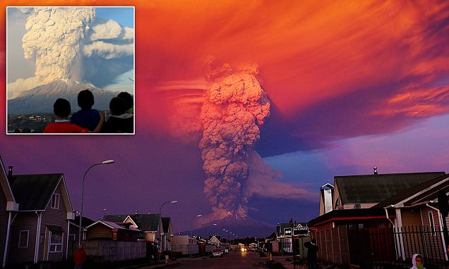Chile's Calbuco volcano erupts for first time in 40 years with hundreds evacuated