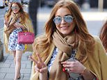 LONDON, UNITED KINGDOM - APRIL 23: Lindsay Lohan out and about in Mayfair on April 23, 2015 in London, England.\nPHOTOGRAPH BY Eagle Lee / Barcroft Media\nUK Office, London.\nT +44 845 370 2233\nW www.barcroftmedia.com\nUSA Office, New York City.\nT +1 212 796 2458\nW www.barcroftusa.com\nIndian Office, Delhi.\nT +91 11 4053 2429\nW www.barcroftindia.com
