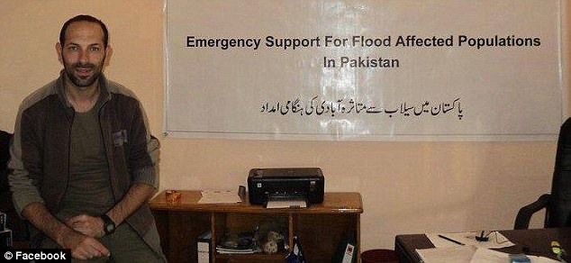 Lo Porto travelled to Pakistan to help people living in areas devastated by widespread flooding