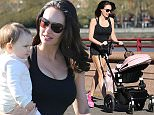 jkpix tamara ecclestone and daughter sophia walking  training in battersea park london