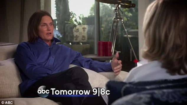 Looking to the future: The clip ends with Bruce asking 'how does my story end'