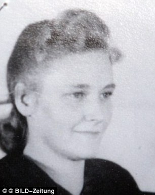 No justice: Charlotte S, now 94, was an SS guard in the Nazi death camps Ravensbrück and Auschwitz, according to Stasi records