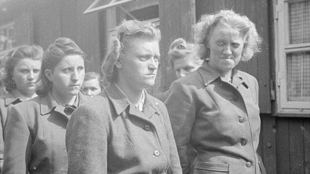 Culpable: There were 3,700 women who served in the Nazi death camps during the Second World War - but only three have been investigated by prosecutors in Germany for their roles as accomplices to mass murder