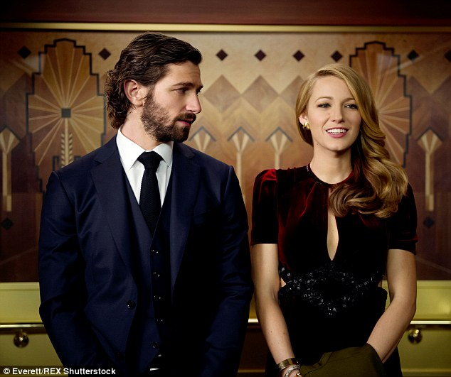 On-screen lovers: Blake stars opposite Michiel Huisman in The Age Of Adaline, which debuts on Friday