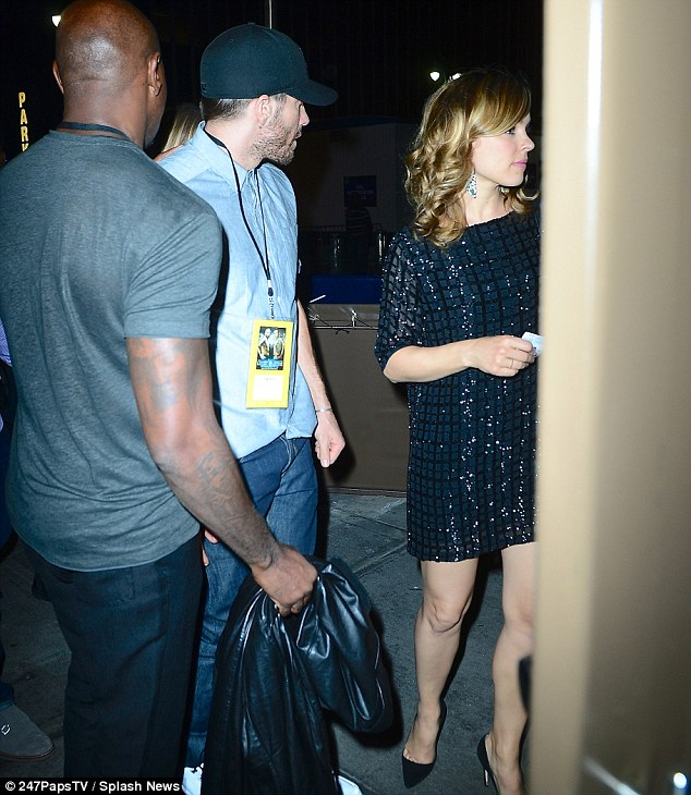 Putting in a good fight! The actress was seen with Jake Gyllenhaal at the Miguel Cotto vs. Sergio Martinez fight in New York in June