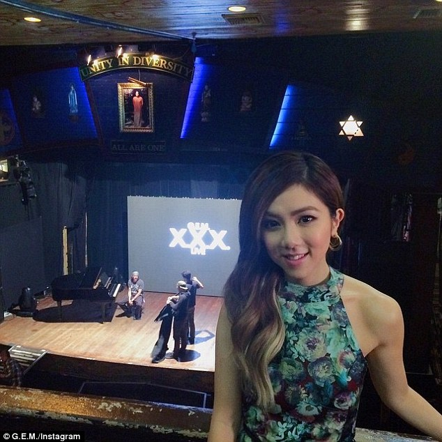 A new beginning: On Wednesday G.E.M. performed at The House Of Blues in West Hollywood