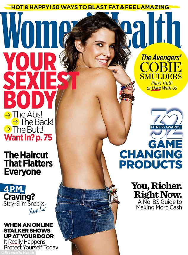 Sharing her struggle: In the May issue of Women's Health Cobie Smulders revealed her secret battle with ovarian cancer, which she was diagnosed with at age 25
