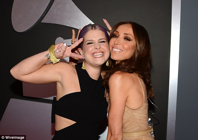 Close: The friends used to be very close, pictured here in 2013 at the Grammy Awards