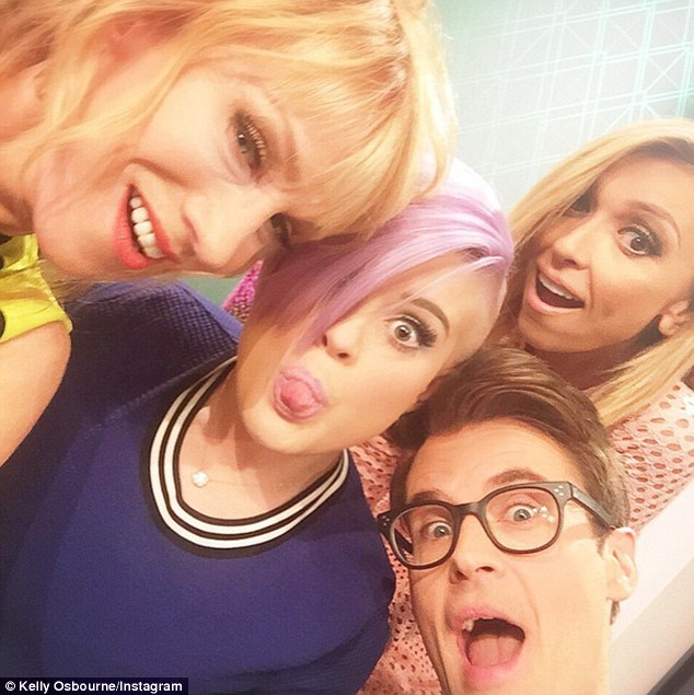 The team: Before the drama caused by the comment made my Giuliana, the Fashion Police team was made up of Kelly Griffin, Kelly, Giuliana and Brad Goreski