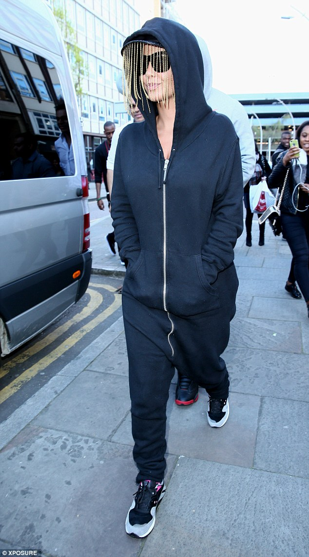 Ready to shop: Amber Rose heads to Ilford, East London to shop for her son Sebastian