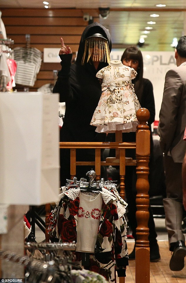 I need more Burberry: With all these clothes, young Sebastian will be the best dressed toddler in town