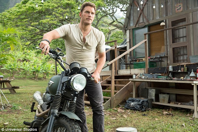 A different life: He revealed what it was like to return to Maui as a Hollywood star to shoot Jurassic World in 2014 telling Ellen, 'It was so surreal - one of those weird full circle things that happen in life,'