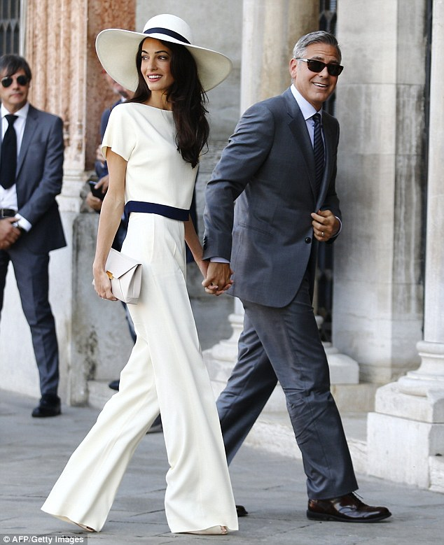 He did it his way: 'George prefers to communicate with her by phone. He loves hearing her voice!' a source told the publication.That must mean Amal - a prominent attorney that has to travel the world for her work - must have an international cell phone at the ready 24/7