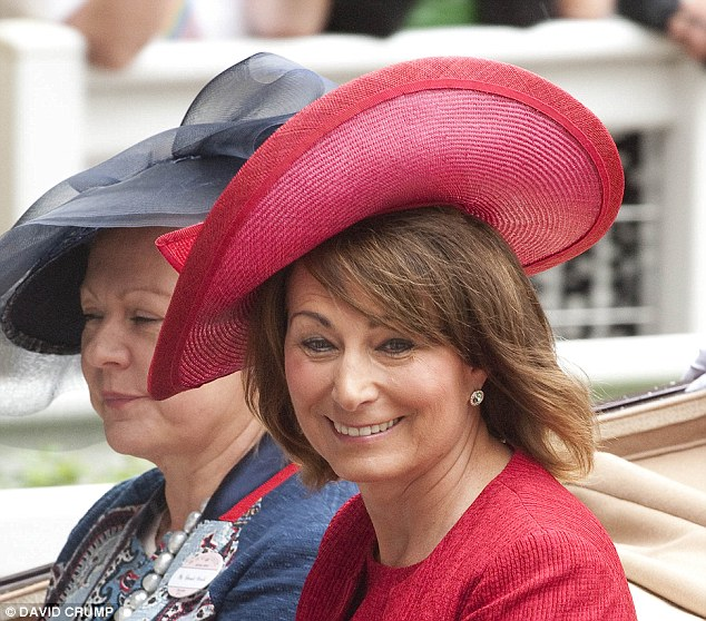 Matriarch: Carole Middleton has made no secret of her desire to be a hands-on grandmother