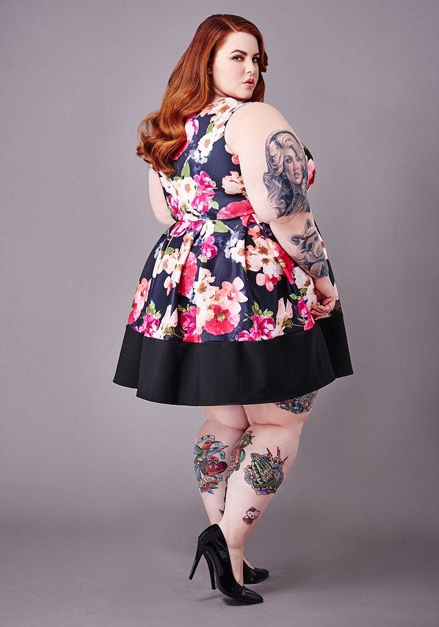 Tess loves to embrace her body and show off her enormous range of tattoos