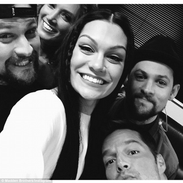 Headed Down Under: Last week, the Maddens shared a b&w selfie of the coaches captioned, 'Best season yet'