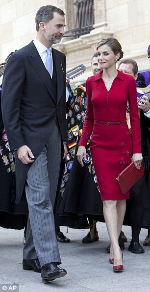 Behaviour: Royals are expected to behave in a way that earns them the gratitude of the Spanish public