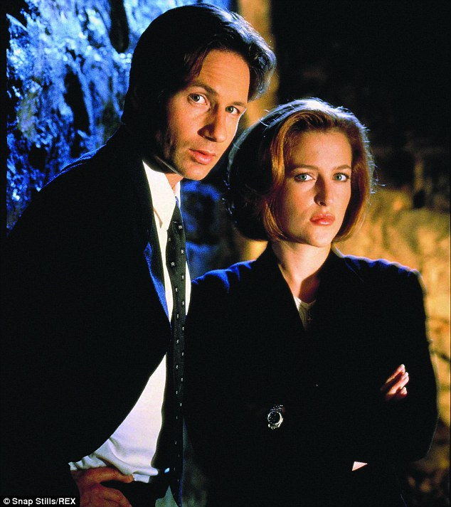Comeback: Gillian first found fame on The X Files with David Duchovny and a revival of the show was recently announced