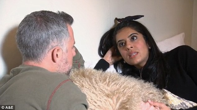 Hear-to-heart: Davina told Sean that he needs to show her more affection after he started pulling away from her