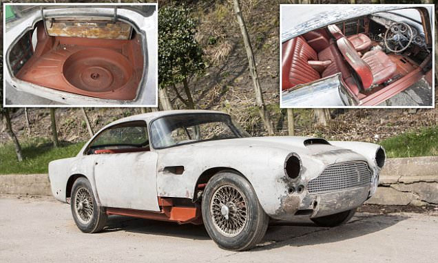 1962 Aston Martin DB4 on the market for £220,000
