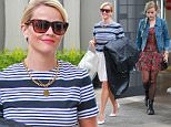 Beverly Hills, CA - Reese Witherspoon and daughter Ava step out together in Beverly Hills after a stop by Reese's office. Reese wore an ear to ear smile as she walked with her lovely daughter with green hair and torn leggings.\nAKM-GSI        April  23, 2015\nTo License These Photos, Please Contact :\nSteve Ginsburg\n(310) 505-8447\n(323) 423-9397\nsteve@akmgsi.com\nsales@akmgsi.com\nor\nMaria Buda\n(917) 242-1505\nmbuda@akmgsi.com\nginsburgspalyinc@gmail.com