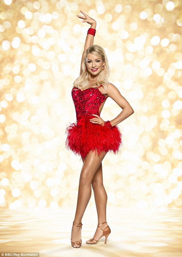 Strictly siren: Kristina Rihannoff has been popular with viewers of the BBC show for years