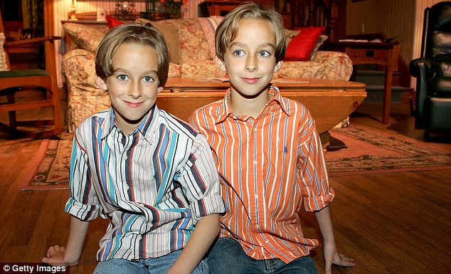 Sawyer (left) and his brother Sullivan started working on Raymond when they were just 16-months-old