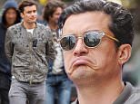 Mandatory Credit: Photo by Startraks Photo/REX Shutterstock (4700443e)\n Orlando Bloom\n Orlando Bloom out and about, New York, America - 22 Apr 2015\n Actor Orlando Bloom leaves Da Silvano Restaurant\n