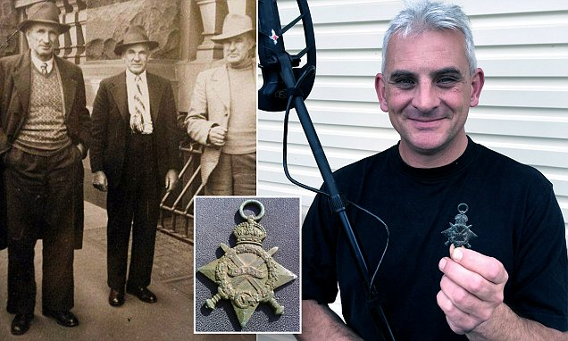 Who was the Anzac buried as Frederick Biddulph? Fossicker with a metal detector finds a
