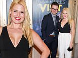 """Arrivals to the opening night of """"The Visit"""" at The Lyceum Theatre on Broadway in New York City on April 23, 2015.\n\nPictured: Brian Gallagher and Megan Hilty\nRef: SPL1004908  230415  \nPicture by: Splash News\n\nSplash News and Pictures\nLos Angeles: 310-821-2666\nNew York: 212-619-2666\nLondon: 870-934-2666\nphotodesk@splashnews.com\n"""