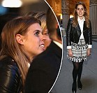 Princess Beatrice jets into Florence