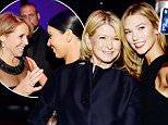 Mandatory Credit: Photo by ddp USA/REX Shutterstock (4691377ds)\n Martha Stewart, Karlie Kloss\n Time 100 Gala, New York, America - 21 Apr 2015\n \n