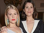 "LONDON, ENGLAND - APRIL 23:  Hannah Arterton (L) and Gemma Arterton attend as Audi hosts the opening night performance of ""La Fille Mal Gardee"" at The Royal Opera House on April 23, 2015 in London, England.  (Photo by David M. Benett/Getty Images for Audi)"