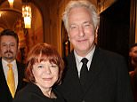 Alan Rickman recieves the Honorary Kristian Award for his contribution to world cinematography during the opening ceremony at the Febiofest Prague International Film Festival Featuring: Alan Rickman, Rima Horton Where: Prague, Czech Republic When: 19 Mar 2015 Credit: WENN.com **Not available for publication in Czech Republic, Slovakia**