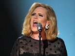 Singer Adele performs onstage at the 54th Annual GRAMMY Awards held at Staples Center on February 12, 2012 in Los Angeles, California.  (Photo by Kevin Winter/Getty Images)