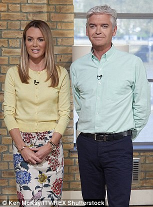 This Morning, hosted by Amanda Holden and Phillip Schofield, is believed to be preparing a segment that would see women rub semen on their face