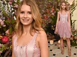 Mandatory Credit: Photo by Nick Harvey/REX Shutterstock (4705780ci)  Lottie Moss  The Blossom Ball at Jo Malone, London, Britain - 23 Apr 2015