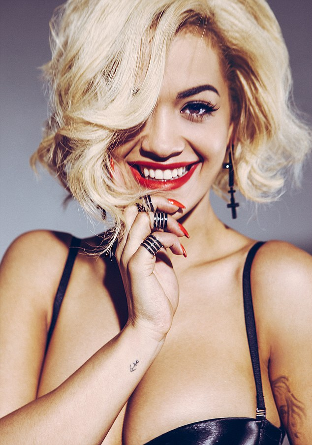 Outstanding contribution: Rita was announced as one of three Silver Clef winners including Mark Ronson and Primal Sceam